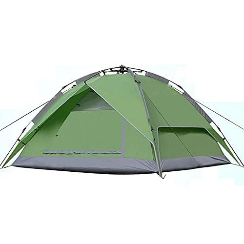 GQYYS Tienda de campaña, Ligero Impermeable Refugio de protección UV Sun Dome al Aire Libre Carpa Carpa fácil instalación para la Persona 3-4 Senderismo Jardín