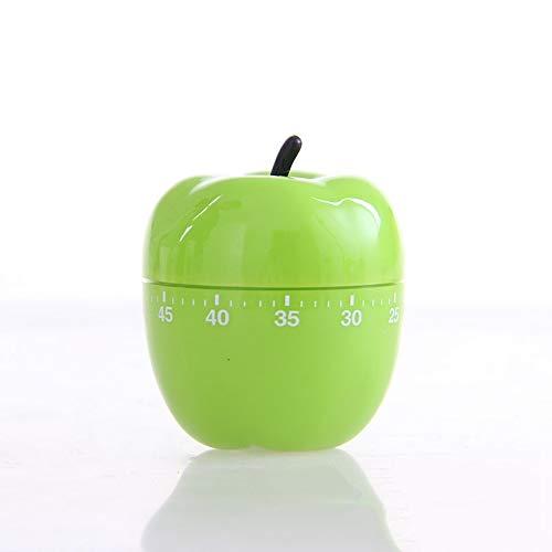 Scge Temporizador de Manzana.Temporizador de Frutas.Contador regresivo.Recordatorio de Cocina Verde
