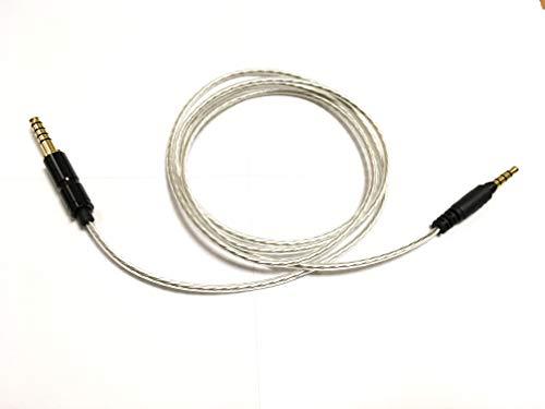 G&V 4.4mm 5極 SONY MDR-1A対応 バランスケーブル 音場広がり 楽器分離 定位感 1.2m SN1A-4BA-SL