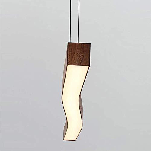 NOTREPP Moderno salón de suspensión Ajustable luz Pendiente Caliente lámparas LED lámpara de 41W Muzhi,A