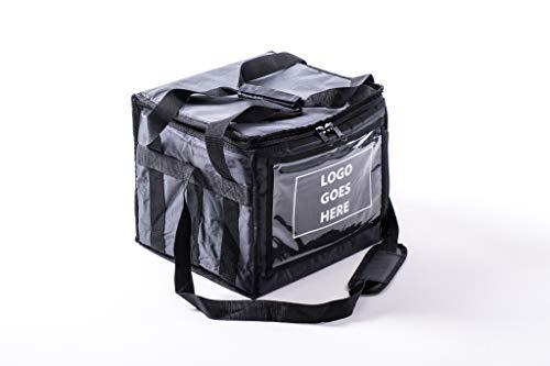 Bolsa de entrega de alimentos con divisores aislados Cálido
