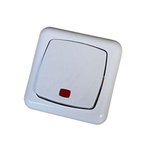 Lichtschalter Stromschalter Wippe Ausschalter Schalter mit LED Kontrollleuchte