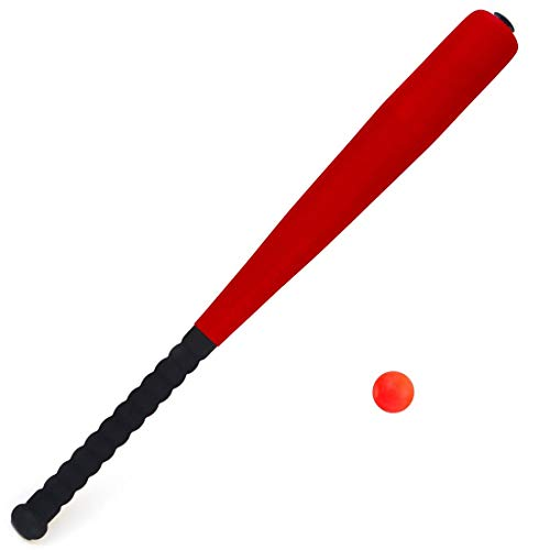 AX Esportes Taco De Baseball Mirim em Espuma e Leve , Vermelho