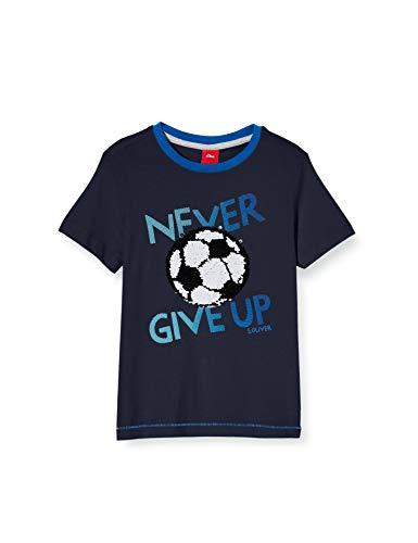 s.Oliver Junior Jungen Kurzarm T-Shirt, 5798, 128/134