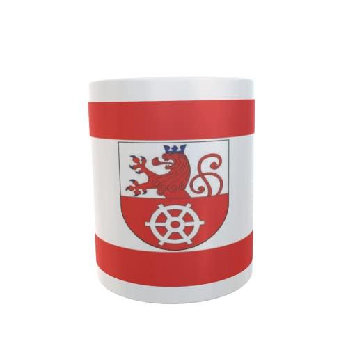 U24 Tasse Kaffeebecher Mug Cup Flagge Ratingen