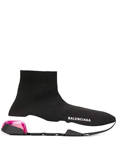 Balenciaga Luxury Fashion Donna 607543W05GG1014 Nero Fibre Sintetiche Hi Top Sneakers   Stagione Permanente