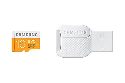 Samsung MB-MP16DC/EU - Tarjeta de Memoria con Adaptador USB, 16 GB