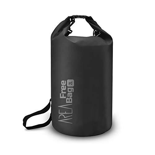 Area Free Bag strandtas, 28 cm, 2 liter, zwart