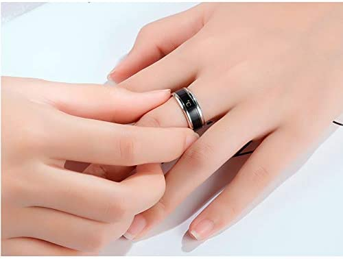 TSSP-177 Smart Ring New Technology Magic Finger for boy&girl Smart Temperature Lovers Rings, Accessories