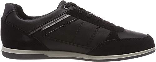 Geox Herren U Renan B Sneaker, Schwarz (Black C9999), 46 EU