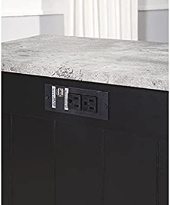 ef17b11f1f1dff Signature Design by Ashley T217-811 Diamenton Chairside End Table Black