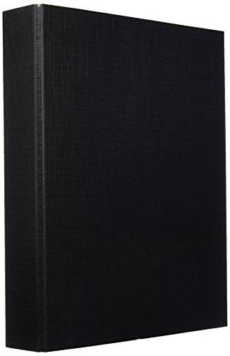 Makro Paper 0001-Quaderno ad anelli e Cartone rivestito in PP 2/40 mm, colore: nero