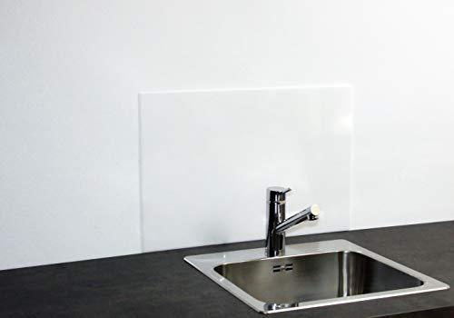 Paulus Spritzschutz Küchenrückwand Küche Wand Herd 60x40 cm Acrylglas weiß