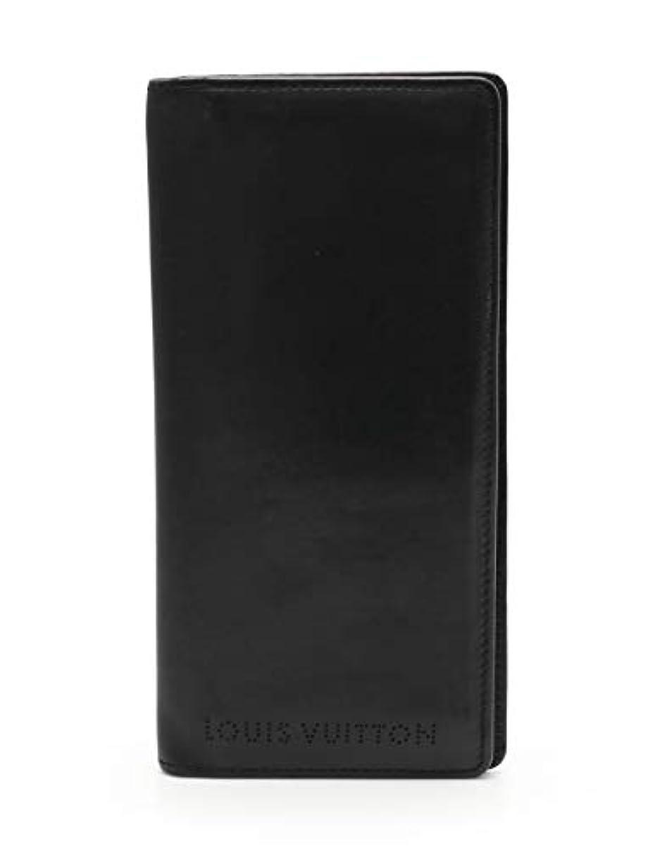 委託細胞想像する(ルイ?ヴィトン) LOUIS VUITTON キュイール ベキア オーガナイザー ドゥ ポッシュ 長札入れ レザー ノワール M85014 中古