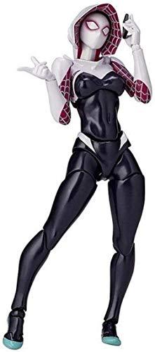 Cylficl Marvel Avengers Spider-Gwen Figura de acción - 7 pulgadas Marvel Toys - Figura móvil común Marvel Infinity War Colección de regalos de cumpleaños para niños