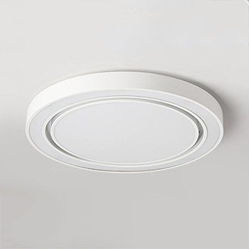 GPZ-iluminación de techo LED Moderno Acryl aleación negro blanco redondo LED Lamp.LED Light.Ceiling Lights.LED Ceiling Light. Lámpara de techo para Foyer Dormitorio [Clase energética A ++]