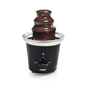 Fontaine à chocolat Princess 292994 – 3 étages – Fonction de maintien au chaud