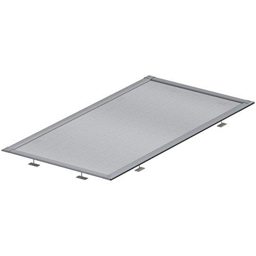 ACO Self® Laub- und Insektenschutzgitter für Lichtschacht Rostgröße bis 115x60 cm
