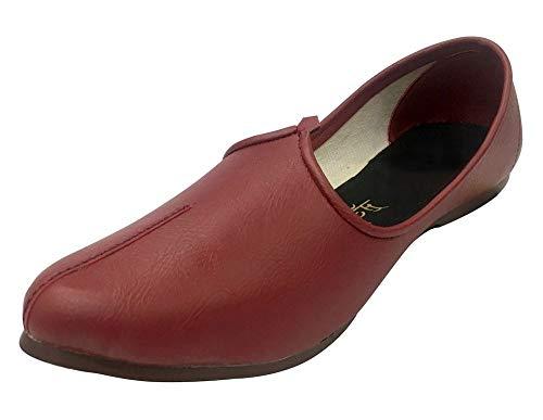 Step n Style 6 to 11.5 Mens Khussa Shoes Punjabi Jutti Handmade Jalsa Tribal Shoes (9)