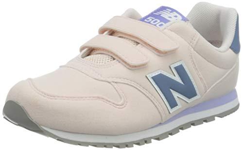 New Balance 500 Yv500Tpb Wide, Zapatillas Niñas, Pink (Saturn Pink Tpb), 30.5