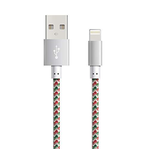Fugetek Cargador iPhone [Apple MFi Certificado] Cable
