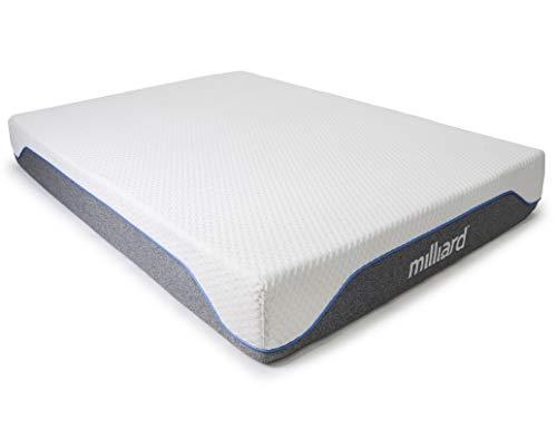 Milliard Memory Foam Mattress 10 inch Semi-Firm, Classic (King) 76x80x10 in.