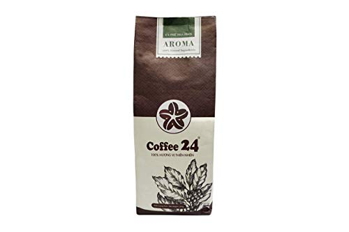 VietBeans AROMA – Vietnamesischer Kaffee – Geröstete Kaffeebohnen Ganze Bohne 250g – Organischer Anbau - Vietnam Coffee