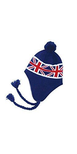 Générique Bonnet PERUVIEN Union Jack Femmes Hommes Drapeau Anglais #W12-61UK