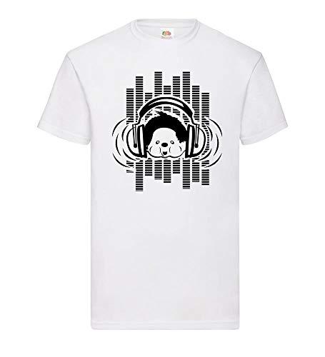 Elektrische muziek Monchichi mannen T-shirt - shirt84.de