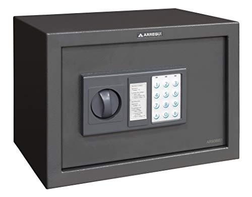 Arregui T20EB Caja fuerte de sobreponer electrónica (310 x 200 x...