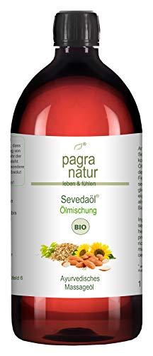 pagra natur Seveda® Massage Öl BIO - spezielle Ölmischung, 1l