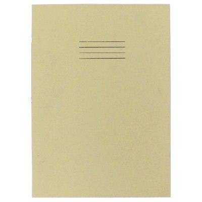 Rhino B - Quaderno per esercizi, formato A4, 64 pagine, confezione da 10, molore: Nocciola lucido