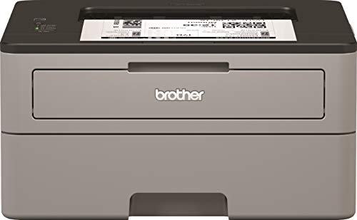 Brother HLL2310D Stampante Laser Bianco e Nero, Velocità di Stampa 30 ppm, Stampa Fronte/Retro Automatica, Interfaccia USB (no Rete, no WiFi), Display LED