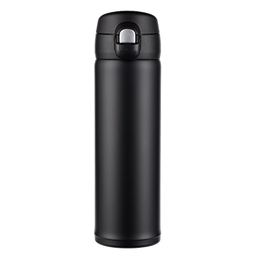 Hiwill Double Walled Vacuum Insulated Travel Coffee Mug, Stainless Steel...