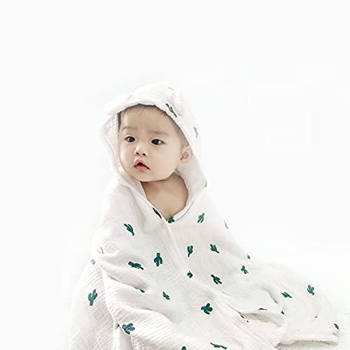 Toallas De Baño Con Capucha Para Bebé 100% Algodón Suave Y Grueso Toallas De Baño Para Bebés, Niños Pequeños Mantiene A Su Bebé Cálido Y Acogedor