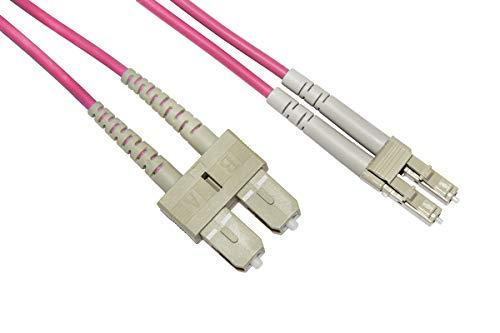 Unbekannt Glasfaserkabel optisch LC A SC Multimode Duplex OM4 50/125 MT1 Bending Insensitive LSZH