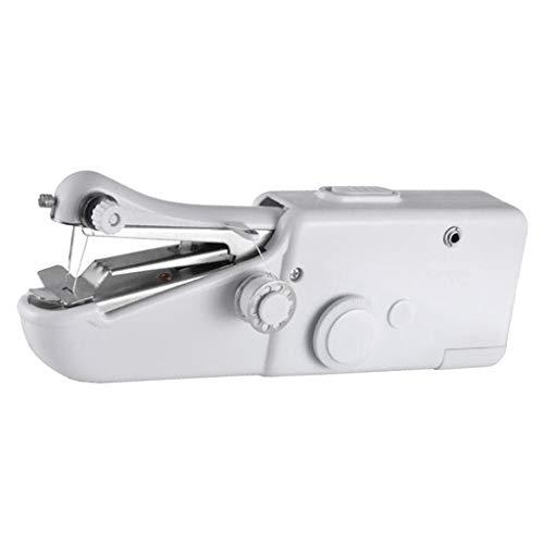 Hellery Máquina de Coser de Mano 21cm Travel Home Handy Stitch Máquina de Coser Eléctrica