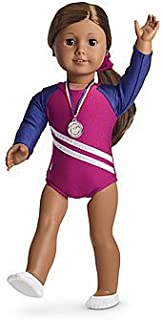 American Girl Gymnastics Outfit for Dolls + Charm - MY AG 2013