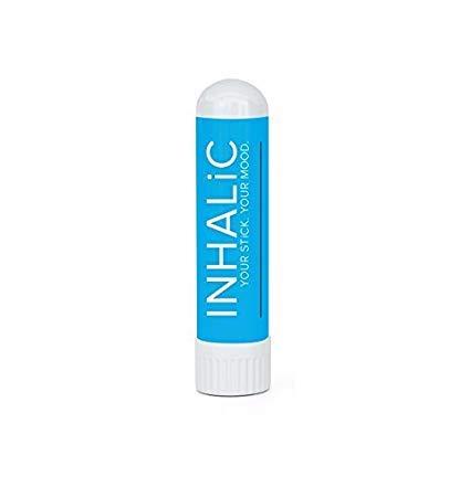 INHALiC Focus&Mind Inhalierstift - Natürlicher Brain Booster zur Steigerung der Konzentration - Alternative zu Koffeintabletten, Energy Drink & Ritalin - Studium & Schule Energie, 3g