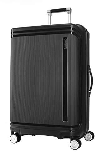 SAMSONITE Hartlan Polypropylene 75.5 cms Black Hardsided Check-in Luggage (SAM HARTLAN Spinner 75 Black)