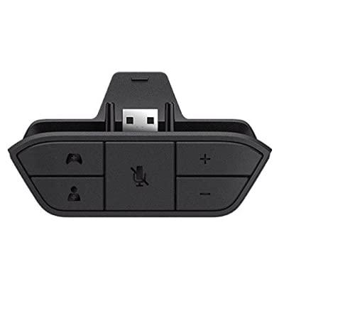 Movttek® - Adaptador de auriculares estéreo para Xbox One, convertidor de auriculares...