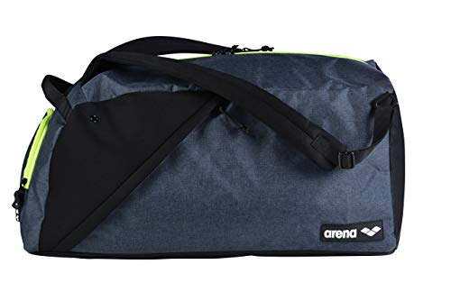 Arena Unisex_Adult Bolsa Fast Hybrid Duffel Bag, Grey Melange, one size