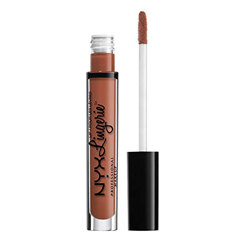 Labial liquido mate, Lingerie Liquid Lipstick, Nyx Professional Makeup  ,Tono Seduction, 4ml