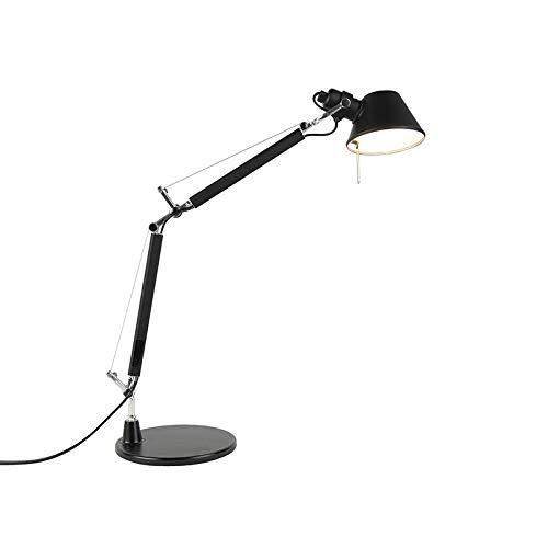 Artemide Design Artemide Tolomeo Tavolo Micro schwarz/Innenbeleuchtung/Wohnzimmerlampe/Schlafzimmer Aluminium Andere LED geeignet E14 Max. 1 x 46 Watt