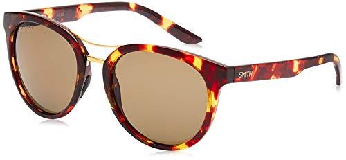 Smith Damen Bridgetown L7 My3 54 Sonnenbrille, Braun (Tortoise/Grey Grn Pz Cp)