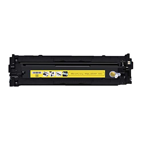 XDXD Compatible para HP CE410A Cartucho de tóner de repuesto para impresora HP Enterprise 300 Color LaserJet Pro M351 M451 MFP M375 M475 con chip suministros de oficina amarillo
