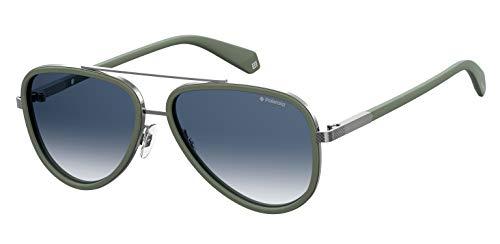 Polaroid PLD 2073/S Gafas de sol, Multicolor (Green), 57 para Hombre