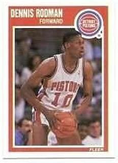 1989 Fleer #49 Dennis Rodman NM-MT