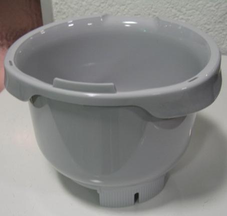 Rührschüssel Grau für Bosch Küchenmaschine MUM 4... - # 641510