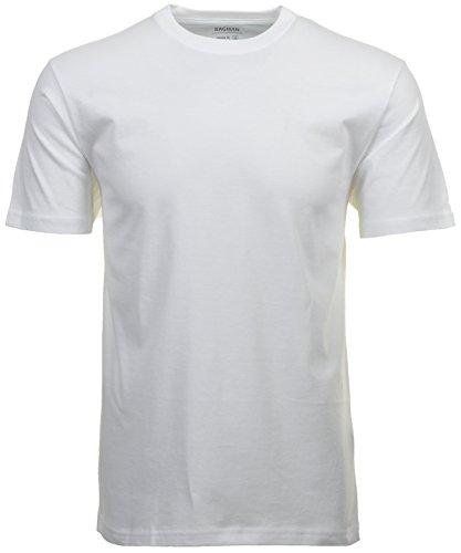 RAGMAN Shirt weiss im Doppelpack Rundhals, XL